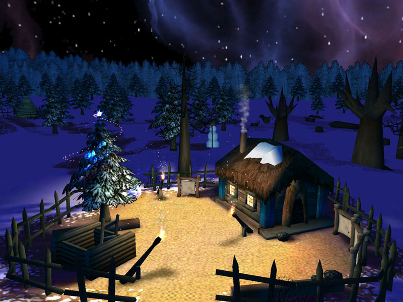 Fairy Christmas Day 3D Screensaver